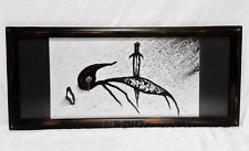GOZANZE original dark occult art painting