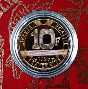 10 Francs GENIE de la BASTILLE de 1995 en Belle Epreuve