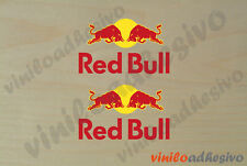 PEGATINA STICKER VINILO Red Bull F1 energy drink bebida