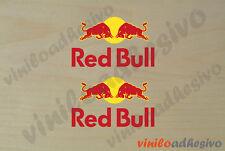 PEGATINA STICKER VINILO Red Bull F1 energy drink bebida