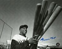 WILLIE MAYS HOF SIGNED 8X10 PHOTO AUTO AUTOGRAPH SAY HEY AUTHENTICATED GIANTS