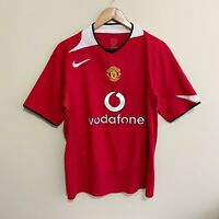 Manchester United Nike 2005/2006 Football Soccer Jersey Shirt Mens Medium