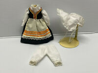 "Antique/Vintage Style 3 pc Vintage Style Doll Dress Fashion for 7"" to 9"" doll #1"