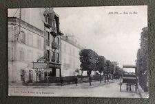 CPA. ABLON. 94 - Rue du Bac. Pharmacie Normale. Attelage Bouteilles Lait???