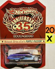 HOT WHEELS ANNYVERSARY 35 1968-2003 PURPLE PASSION NATIONALS SERIES #2/4