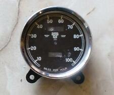 """Smiths Speedometer Housing/Case Brough Superior/Sunbeam 10-100 MPH 5"""""""