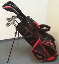 FALCON Golfschläger, Komplettset Herren, Golfset Graphit mit Standtasche  P3-GG