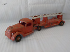 Vintage 1940's BUDDY L Ride On Toy Fire Truck