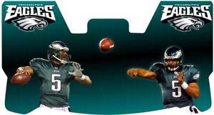 Custom Philadelphia Eagles Donovan McNabb Football Helmet Visor, W/ Clips