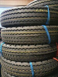 NEUREIFEN 6.50-16 Reifen mit Schlauch und Wulstb Shikari ST701 12PR oder 6.50R16