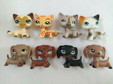 8pcs/Lot rare LPS268 cat dog Littlest Pet Shop toy cute Christmas gift