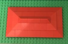 Lego New Home / House Building Red Top Roof W/ Corner Double Convex Slope Parts