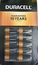 Duracell Coppertop Alkaline C Batteries (( 10 X 2 PACK = 20 Batteries ))