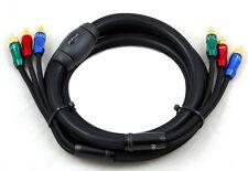 HiViLux Prof. YUV-Komponenten-Kabel OCC Ø=17mm/1,8m RGB auch als HiFi Cinchkabel