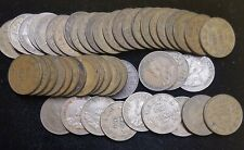 1 ROLL (50 coins) CANADA 1921 small cents King George V nice assortment Good-VF