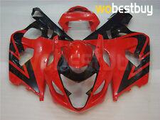 Red Black Fairing ABS Body Kit Bodywork for Suzuki GSX-R600/750 2004-2005 K4 gE5
