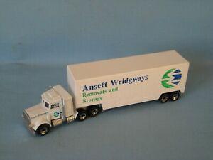 Matchbox Convoy Peterbilt Box Car Ansett WridgwaysTruck Toy Model 160mm Boxed