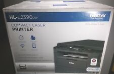 New Brother HL-L2390DW Wireless duplicate mono All-In-One Printer Gray 2390dw