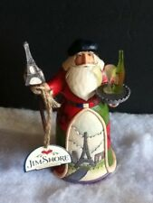 Enesco Jim Shore Heartwood Creek Bonjour And Merry Christmas