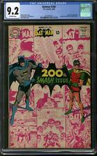 Batman #200 CGC 9.2 (OW) Neal Adams Anniversary Cover