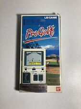 New ListingVintage Bandai Lsi ProGolf Video Game - Electronic Handheld 1984 Complete Works