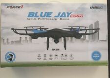 Force1 U45W Blue Jay Wi-Fi FPV Drone w/ HD Camera, Altitude Hold & 1-Key Takeoff