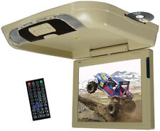 """TVIEW T1591DVFDTAN Tview 15"""" Flip Down Monitor with DVD Player USB/SD IR/FM T..."""