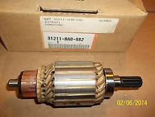 HONDA ATC250 TRX250 NOS OEM STARTER MOTOR ARMATURE ATC TRX 250  31211-HA0-682