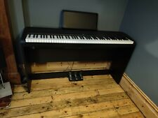 More details for korg b1sp digital stage piano, 88 key - black - with stand and peddles - vgc