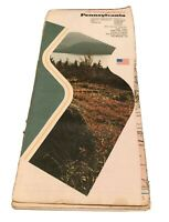 Rand McNally Pennsylvania State Highway Travel Road Map Vintage Collectible