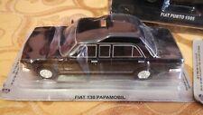 Modellino Fiat 130 Papamobile scala 1:43 Papa Pope DeAgostini Polski