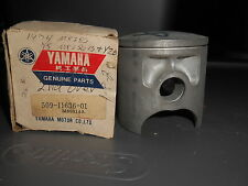 NOS Yamaha OEM Crank Shaft Piston 1975 MX250B MX 250 B 509-11636-01