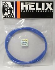 """SCOOTER 50CC 125CC 150CC GY6 HIGH QUALITY Helix Fuel Vacuum Lines 3/16"""" Blue"""
