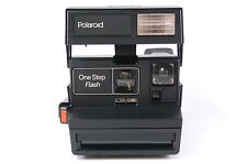 Polaroid ONE STEP Flash instant camera for 600 film TESTED réf. 124167 dlmntn