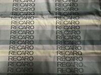 39x63in FULL GRADATION RECARO Seats Fabric Interior fabric Front Rear seat Cover