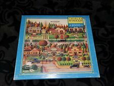 1000 PIECE JIGSAW PUZZLE CHARLES WYSOCKI LABOR DAY IN BUNGALOWVILLE MB