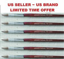 100% Pure Kolinsky Acrylic Round Nail Brush Nail Art Brush Choose Size2/4/6/8/10