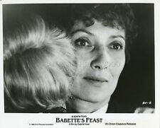 STEPHANE AUDRAN  LE FESTIN DE BABETTE 1987 VINTAGE PHOTO ORIGINAL #4