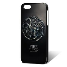 Game Of Thrones Phone Case Cover, Fits iPhones - G.O.T House Targaryen -