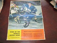 Frank Mahovlich December 17 1960 Star Weekly /Weekend Magazine    Toronto Star