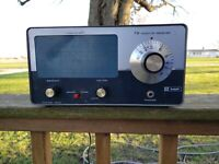 KNIGHT Kit KG-221A 220 FM Monitor Receiver Good Condition,Powers On