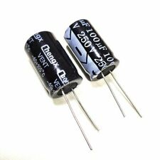50Pcs 50V 33uF Polarized Aluminum Electrolytic Capacitors 5x12.5mm
