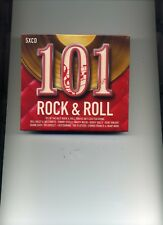 101 ROCK & ROLL - CHUCK BERRY FATS DOMINO BILL HALEY BUDDY HOLLY - 5 CDS - NEW!!