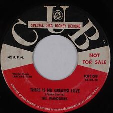 THE WANDERERS: There is No Greater Love CUB DJ 45 Soul Northern Hear