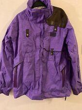 helly hansen Purple Jacket (sparkle) Size m