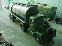 corgi military army scammell fuel tanker code3