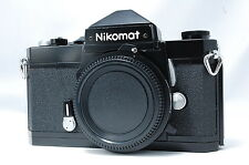 **Problem** Nikon Nikomat FT 35mm SLR Film Camera Body Only Black SN4658456