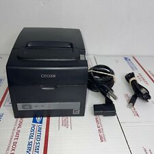 New Listingcitizen Tz30 M01 Point Of Sale Pos Thermal Receipt Printer Tested Amp Working