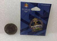 2002 Salt Lake City Olympic I Saw The Games Pin NEW