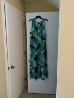 Ashley Stewart Womens Floral Dress sz 26